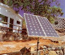 Los Verdes de Santa Brígida apuestan por la energía solar en el Ayuntamiento
