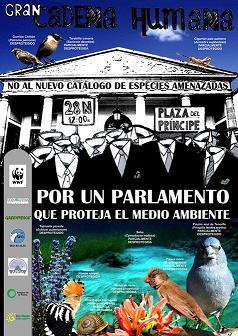 EL PLENO DE SANTA BRÍGIDA EN CONTRA DE LA DESCATALOGALIZACIÓN DE LAS ESPECIES PROTEGIDAS DE CANARIAS